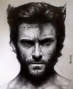Wolverine X men by ~benmboard on deviantART Hugh Jackman