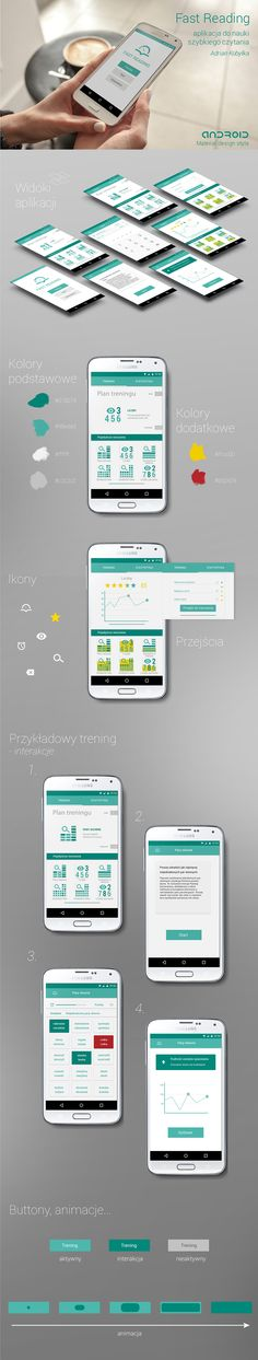 mobil apps on Behance