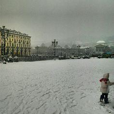Torino. Piazza Vittorio. 2013.