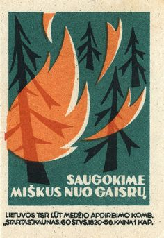 Lithuanian matchbox label by maraid via Flickr