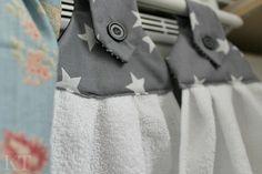Kotona tehtyjä: DIY Kitchen hand towels