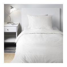 ALVINE STRÅ Duvet cover and pillowcase(s) - Twin - IKEA