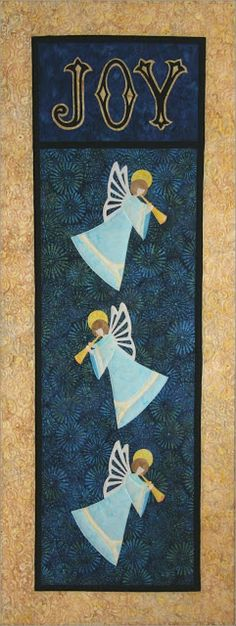 Christmas Joy Angels by Laurie Tigner Designs