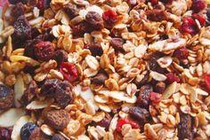 Cinnamon Almond Raisin Flax Granola | VegWeb.com, The World's Largest Collection of Vegetarian Recipes