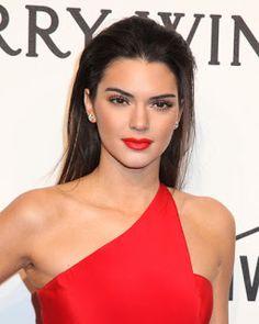 O Batom Favorito da Kendall Jenner + 10 Makes da Top para Inspirar Você - Oh…