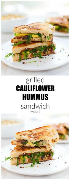 Cauliflower hummus is a new spread that's sure to rock any sandwich ...
