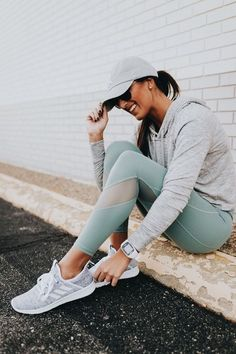 Cute workout outfit. #workoutclothes