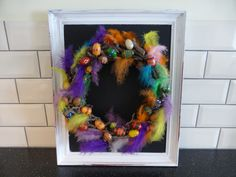 Shabby chic upcycling! Shabby Chic Upcycling, Best Baby Shower Gifts, Mom And Baby, Baby Hats, Upcycle, Wreaths, Halloween, Fun, Handmade
