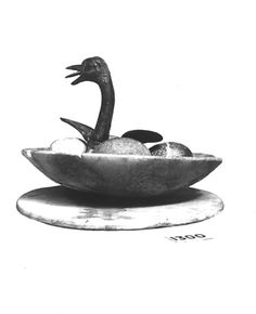 """Carter No.: 620(1). Handlist description: Lid (or cover) of vase (calcite).  Burton photograph: p1469"" ^**^ sivert høyem ^**^"