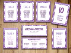 """Rustic Wedding Seating Chart Template Printable 