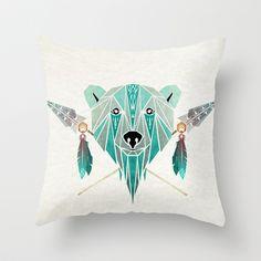 polar bear Art Print by manoou Polar Bear Tattoo, Polygon Art, Bear Art, Indigenous Art, String Art, Wall Tapestry, Moose Art, Throw Pillows, Art Prints