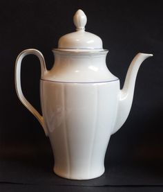 #coffeepot tall porcelain made in Bavaria Germany visit our ebay store at  http://stores.ebay.com/esquirestore