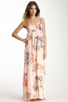 Silk Spaghetti Maxi Dress by Gypsy05 on @HauteLook