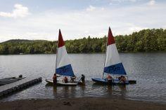 Fun activities at Camp Walden-sailing.
