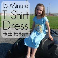 15-Minute T-Shirt Dress Pattern from Pieces by Polly   DIY Polka Dot Shoes from The Life of a Craft Crazed Mom   DIY Polka Dot Shorts f...