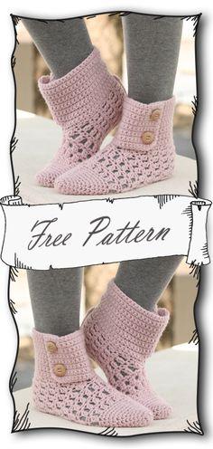 Crochet Shoes, Crochet Slippers, Crochet Clothes, Crochet Gratis, Free Crochet, Needle Felting Tutorials, Shoes Too Big, Crochet Instructions, Tree Patterns
