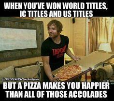 That sounds like Dean. Dean Ambrose Seth Rollins, Wwe Dean Ambrose, Wwe Quotes, Funny Quotes, Funny Memes, Wrestling Memes, Wrestling Superstars, Wwe Funny, Hilarious