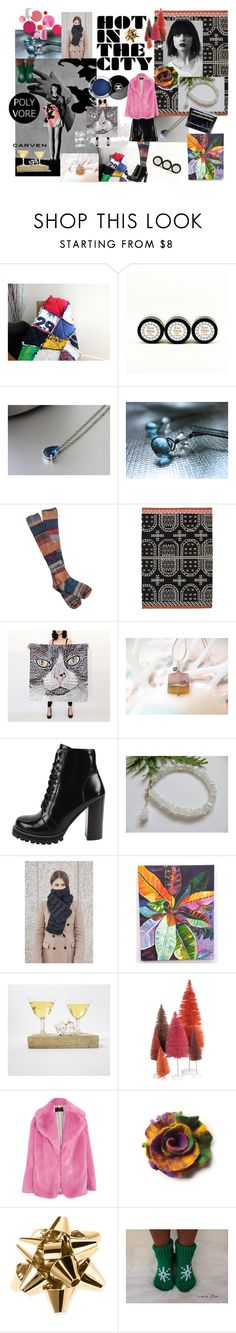"""""""Gift Guide"""" by kikisan-studio ❤ liked on Polyvore featuring SkinCare, Free People, Gandía Blasco, Hydrogen, Jeffrey Campbell, Croton, Cody Foster & Co., J.Crew, Kate Spade and Clinique"""