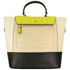 Diane Von Furstenberg 440 Citrine   Soft Sand Top Handle Bag found on  Polyvore Me Bag d5409ed98d8e7