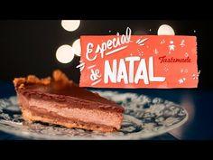 Torta Mousse de Chocolate   Especial de Natal - YouTube