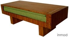 Well THAT'S spiffy! It's a coffee table that converts into a loveseat.