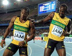 AMAZING RUNNERS Yohan Blake & Usain Bolt
