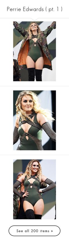 """""""Perrie Edwards ( pt. 1 )"""" by e-loquence ❤ liked on Polyvore featuring jewelry, anons, perrie edwards, perrie, beauty products, photo, little mix, accessories, tops and heart tops"""