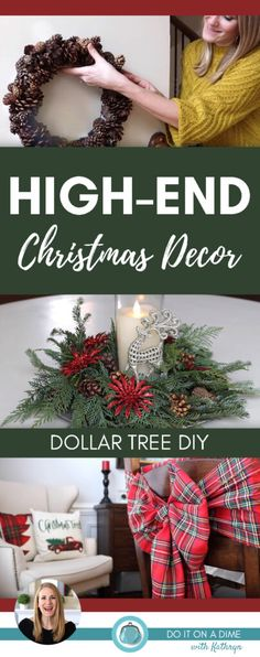 - Best ideas for decoration and makeup - Dollar Tree Christmas, Christmas Hacks, Christmas Store, Outdoor Christmas, Simple Christmas, Christmas Tree Decorations, Christmas Wreaths, Christmas Lanterns, Christmas 2019