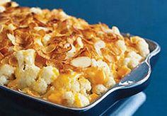 Weight Watchers Cheesy Cauliflower Bake