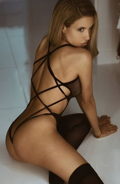 Crazy sexy black fishnet teddy with a nearly naked strappy cage-strap back. Honestly, how sassy is this style? Style it with a bra/bikini top and a pair of cool jeans. Cut Shirt Designs, Teddy Bodysuit, Black Fishnets, Bodysuit Fashion, Teddy Lingerie, Leg Avenue, Cut Shirts, Festival Outfits, Bikini Tops