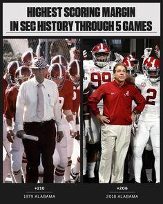 Coach Sabin and Bear Bryant Alabama Football Alabama Football Quotes, Alabama College Football, Kansas City Chiefs Football, American Football, Football Jokes, Football Images, Oklahoma Sooners, Texas Longhorns, Roll Tide Football