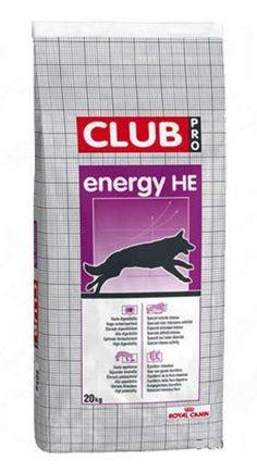 Royal Canin Club Pro Energy HE - 20 kg - Bezpłatna dostawa