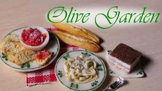 Olive Garden Inspired Miniatures - Polymer Clay Tutorial