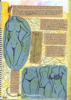 Montage Project: Planning/Brainstorming pages by Chhavi Kumar Art Portfolio, Vintage World Maps, Art Pieces, How To Plan, Projects, Log Projects, Blue Prints, Artworks, Art Work