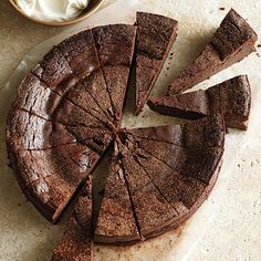 Recipes to Make in a Springform Pan Dense, decadent, and dreamy, this fudgelike torte is a triple threat. Share if you dare; chocolate-lovers will want every last cocoa crumb for themselves.