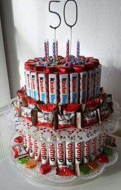 Zum 18 Geburtstag Fur Einen Kinderschokoladen Liebhaber Gab Es Eine