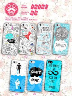 The Fault in Our Stars iphone 4 case iphone 4s case by UncleCase, $6.99
