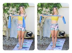 3 Easy Arm Exercises You Can Do Anywhere | Free People Blog #freepeople
