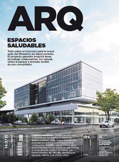 Tapa de la edición impresa de ARQ del martes 14 de julio de 2015