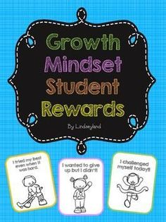 """Encourage your students with Growth Mindset rewards! Includes 16 black and white rewards featuring both boys and girls that reflect an """"I can attitude"""". All rewards come 4 to a page.  Phrases on the b/w rewards:I improved http://today.My good attitude helped me learn today.I wanted to give up but I didnt.I learned from my mistakes today.I challenged myself today.I used my BEST effort today.I was not afraid of a challenge today.I tried my best even when it was hard.12 FULL color rewards…"""