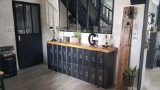 Comment rénover un meuble industriel - We love deco Sideboard, We, Buffet, House Design, Cabinet, Storage, Inspiration, Furniture, Home Decor