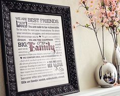 USA & CANADA ~ Rafflecopter ~ Win A Personalized Family Manifesto. A Dedication To Your Family ~   The Perfect Dedication To You & Your Family A Great Way To Welcome Visitors Into Your Home  http://www.linkiescontestlinkies.com/2013/04/giveaway-time-win-personalized-family.html