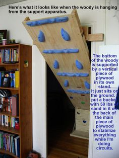 what it looks like during use hang boardclimbing wallrock - Home Climbing Wall Designs
