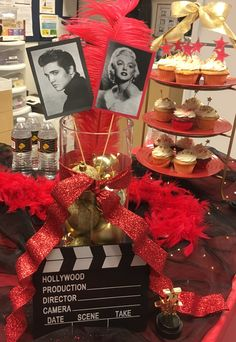 This would have our pics instead Hollywood Glamour Party, Hollywood Sweet 16, Hollywood Theme, Hollywood Birthday Parties, 18th Birthday Party, Red Carpet Theme Party, Hollywood Decorations, Graduation Party Themes, Cool Party Ideas