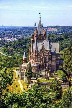 Schloss Drachenburg, Germany Hear more from me: http://totallytrevia.com http://FB.me/totallytrevia Instagram Twitter http://@Tish Chambers Hawks Obiri Trevia