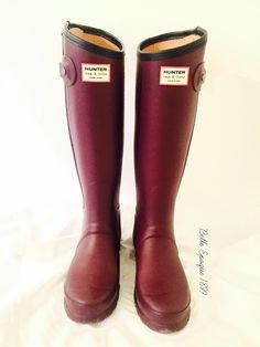 Rag & Bone zip up in burgundy - Hunter