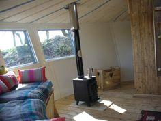 Wood Yurt Interior