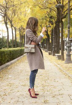 Houndstooth Coat | BeSugarandSpice - Fashion Blog