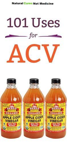 101 Amazing Uses Of Apple Cider Vinegar