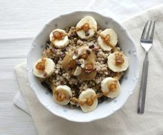 Basic Vegan Buckwheat Porridge   curlsnchard.com